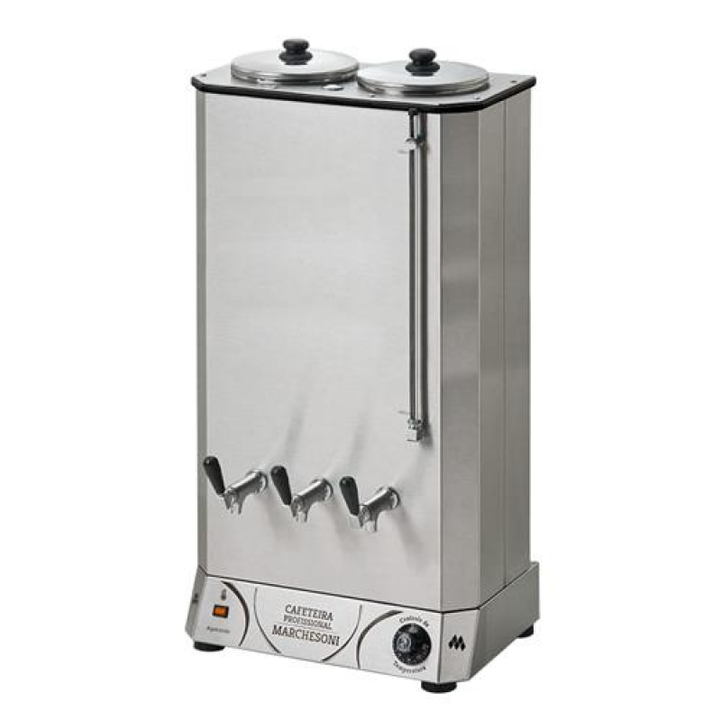 Cafeteira Marchesoni 50L Profissional Inox 220V