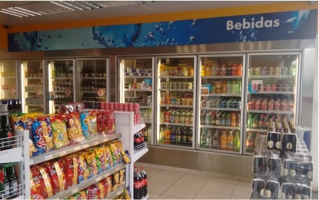 Walk-in Cooler Posto Fórmula</br>Ribeirão Preto/SP